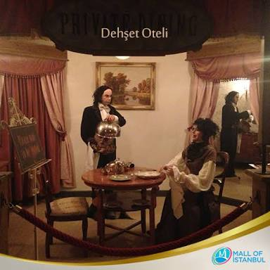THE FIRST AND UNIQUE HORROR HOTEL OF TURKEY/ TÜRKİYE'NİN İLK VE TEK DEHŞET OTELİ